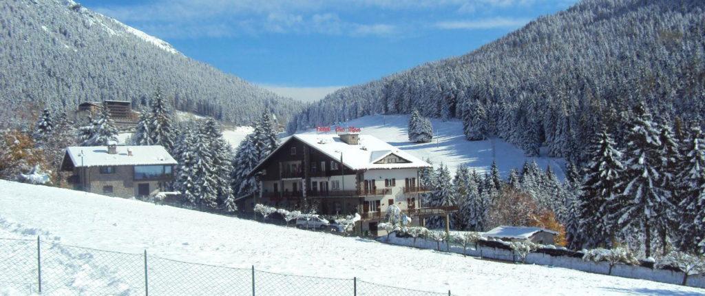 Des Alpes hotel in Castione della Presolana, Bergamo - Italy